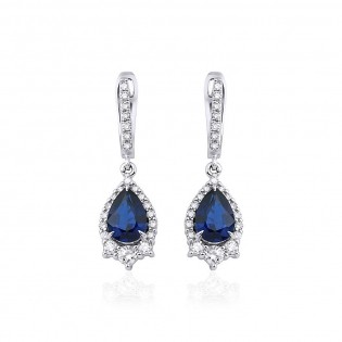 Серьги MOSTAR jewellery 122-E