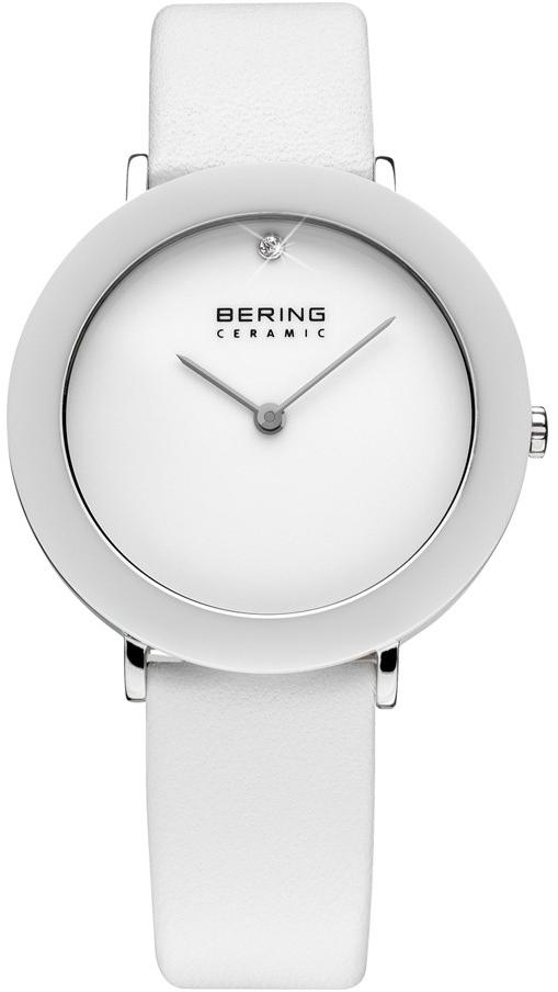 Bering Ceramic 11435-654Наручные часы<br>Датские часы Bering Ceramic&amp;nbsp; 11435-654<br><br>Пол: Женские<br>Страна-производитель: Дания<br>Механизм: Кварцевый<br>Материал корпуса: Сталь+керамика<br>Материал ремня/браслета: Кожа<br>Водозащита, диапазон: 20 - 100 м<br>Стекло: Сапфировое<br>Толщина корпуса: None<br>Стиль: Классика