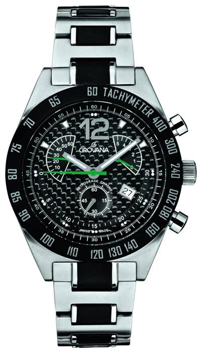 Grovana Sports 1620.9175Наручные часы<br>Швейцарские часы Grovana Sports 1620.9175<br><br>Для кого?: Мужские<br>Страна-производитель: Швейцария<br>Механизм: Кварцевый<br>Материал корпуса: Сталь<br>Материал ремня/браслета: Сталь<br>Водозащита, диапазон/: <br>Стекло: Сапфировое<br>Толщина корпуса/: <br>Стиль/: