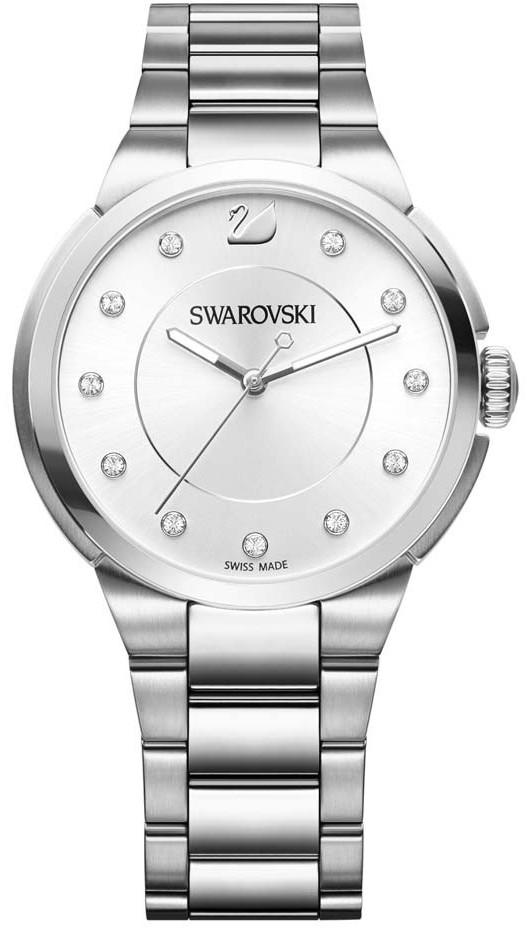 Swarovski 5181632Наручные часы<br>Швейцарские часыSwarovskiCity Simple White Bracelet Watch5181632<br><br>Пол: Женские<br>Страна-производитель: Швейцария<br>Механизм: Кварцевый<br>Материал корпуса: Сталь<br>Материал ремня/браслета: Сталь<br>Водозащита, диапазон: 20 - 100 м<br>Стекло: Сапфировое<br>Толщина корпуса: None<br>Стиль: Мода