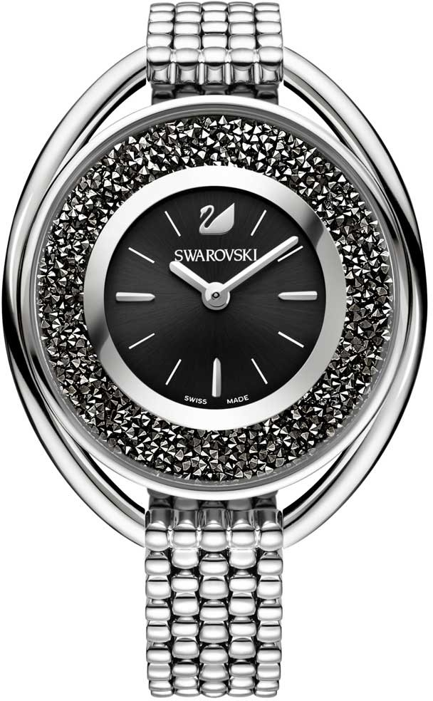Swarovski 5181664Наручные часы<br>Швейцарские часы&amp;nbsp;Swarovski&amp;nbsp;Crystalline Oval Black Bracelet Watch&amp;nbsp;5181664<br><br>Пол: Женские<br>Страна-производитель: Швейцария<br>Механизм: Кварцевый<br>Материал корпуса: Сталь<br>Материал ремня/браслета: Сталь<br>Водозащита, диапазон: 20 - 100 м<br>Стекло: Минеральное<br>Толщина корпуса: None<br>Стиль: Мода