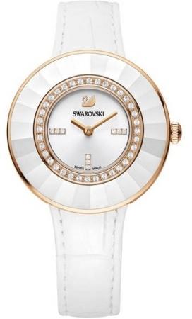 Swarovski 5182265Наручные часы<br>Швейцарские часы&amp;nbsp;Swarovski&amp;nbsp;Octea Dressy White Rose Gold Tone Watch&amp;nbsp;5182265<br><br>Пол: Женские<br>Страна-производитель: Швейцария<br>Механизм: Кварцевый<br>Материал корпуса: Сталь<br>Материал ремня/браслета: Кожа<br>Водозащита, диапазон: 20 - 100 м<br>Стекло: Сапфировое<br>Толщина корпуса: None<br>Стиль: None