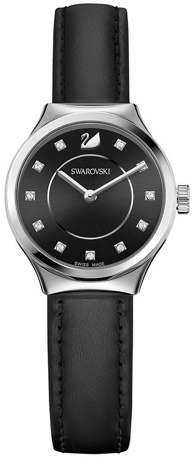 Swarovski Dreamy Black 5199931Наручные часы<br>Швейцарские часы Swarovski Dreamy Black 5199931<br><br>Пол: Женские<br>Страна-производитель: Швейцария<br>Механизм: None<br>Материал корпуса: Сталь<br>Материал ремня/браслета: Кожа<br>Водозащита, диапазон: None<br>Стекло: None<br>Толщина корпуса: None<br>Стиль: None