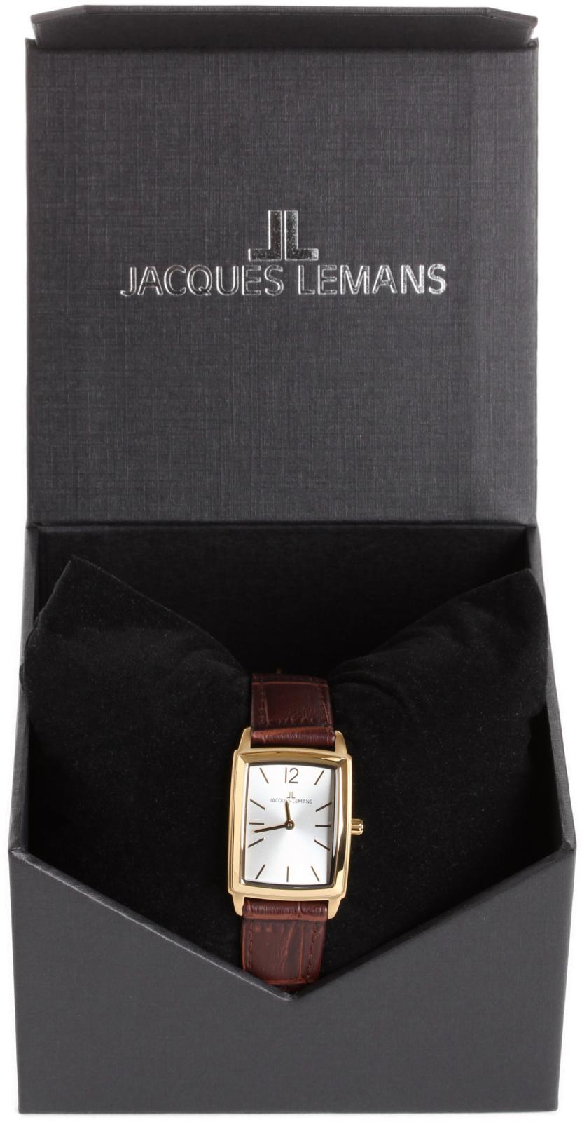 Jacques Lemans Bienne 1-1905DНаручные часы<br>Австрийские часы Jacques Lemans Bienne 1-1905D<br><br>Пол: Женские<br>Страна-производитель: Австрия<br>Механизм: Кварцевый<br>Материал корпуса: Сталь<br>Материал ремня/браслета: Кожа<br>Водозащита, диапазон: None<br>Стекло: Минеральное<br>Толщина корпуса: None<br>Стиль: None