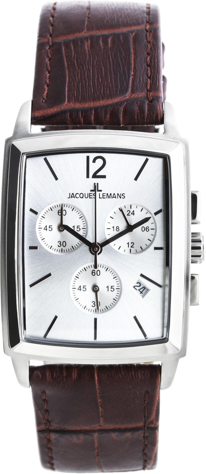 Jacques Lemans Bienne 1-1906BНаручные часы<br>Австрийские часы Jacques Lemans Bienne 1-1906B<br><br>Пол: Мужские<br>Страна-производитель: Австрия<br>Механизм: Кварцевый<br>Материал корпуса: Сталь<br>Материал ремня/браслета: Сталь<br>Водозащита, диапазон: None<br>Стекло: Минеральное<br>Толщина корпуса: None<br>Стиль: None