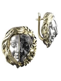 Cерьги Spika Gold 20234-045-11