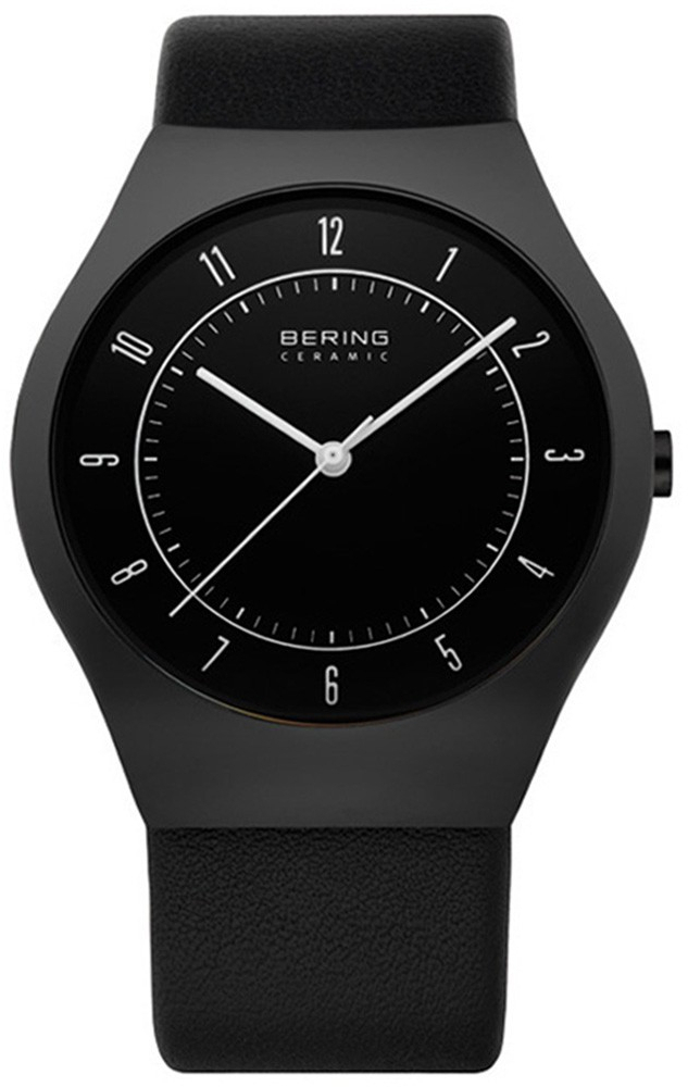 Bering Ceramic 32039-442Наручные часы<br>Датские часы Bering Ceramic 32039-442<br><br>Пол: Мужские<br>Страна-производитель: Дания<br>Механизм: Кварцевый<br>Материал корпуса: Керамика<br>Материал ремня/браслета: Кожа<br>Водозащита, диапазон: 20 - 100 м<br>Стекло: Сапфировое<br>Толщина корпуса: None<br>Стиль: Классика