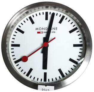 Mondaine Mini Clock SBB CFF FFS