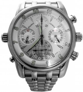 Maurice Lacroix Masterpiece Globe Chrono MP6398