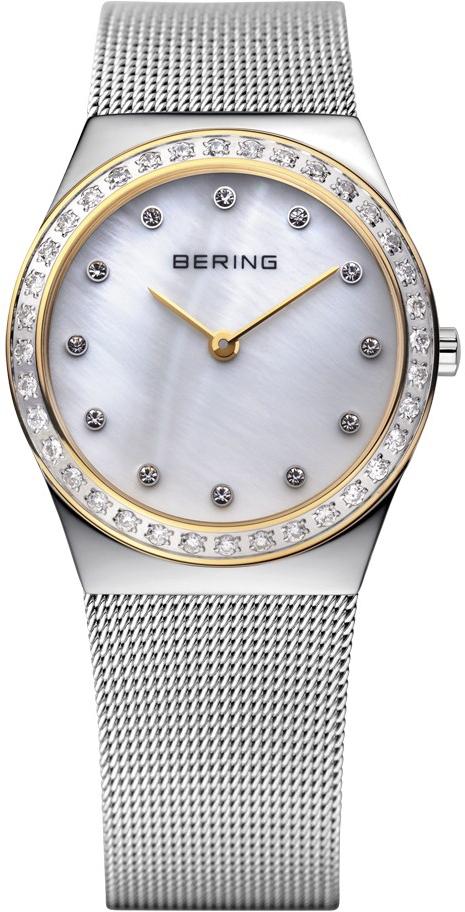 Bering Classic 12430-010Наручные часы<br>Датские часы Bering Classic 12430-010<br><br>Пол: Женские<br>Страна-производитель: Дания<br>Механизм: Кварцевый<br>Материал корпуса: Сталь<br>Материал ремня/браслета: Сталь<br>Водозащита, диапазон: 20 - 100 м<br>Стекло: Сапфировое<br>Толщина корпуса: None<br>Стиль: Классика