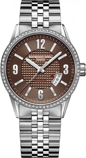 Raymond Weil Freelancer 2730-STS-05707Наручные часы<br>Швейцарские часы Raymond Weil Freelancer 2730-STS-05707Часы входят в модельный ряд коллекции Freelancer. Это модные мужские часы. Материал корпуса часов — сталь. Стекло - сапфировое. Часы этой модели обладают водозащитой 100 м.<br><br>Пол: Мужские<br>Страна-производитель: Швейцария<br>Механизм: Механический<br>Материал корпуса: Сталь<br>Материал ремня/браслета: Сталь<br>Водозащита, диапазон: 100 - 150 м<br>Стекло: Сапфировое<br>Толщина корпуса: None<br>Стиль: None
