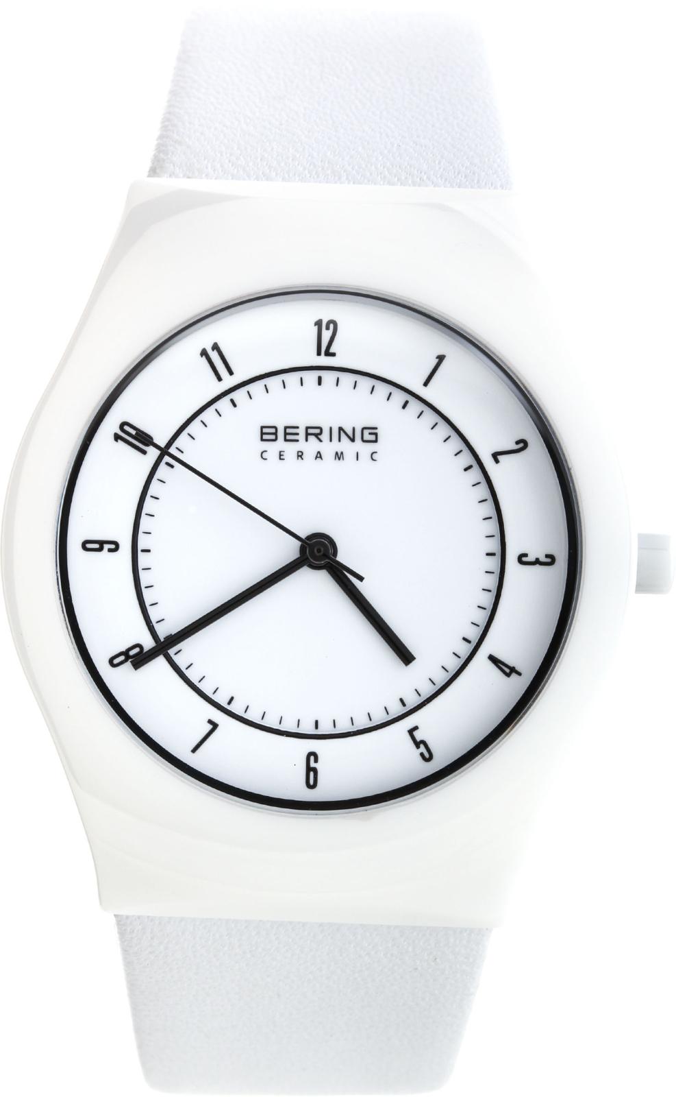 Bering Ceramic 32035-654Наручные часы<br>Датские часы Bering Ceramic 32035-654<br><br>Пол: Мужские<br>Страна-производитель: Дания<br>Механизм: Кварцевый<br>Материал корпуса: Керамика<br>Материал ремня/браслета: Кожа<br>Водозащита, диапазон: 20 - 100 м<br>Стекло: Сапфировое<br>Толщина корпуса: None<br>Стиль: Классика