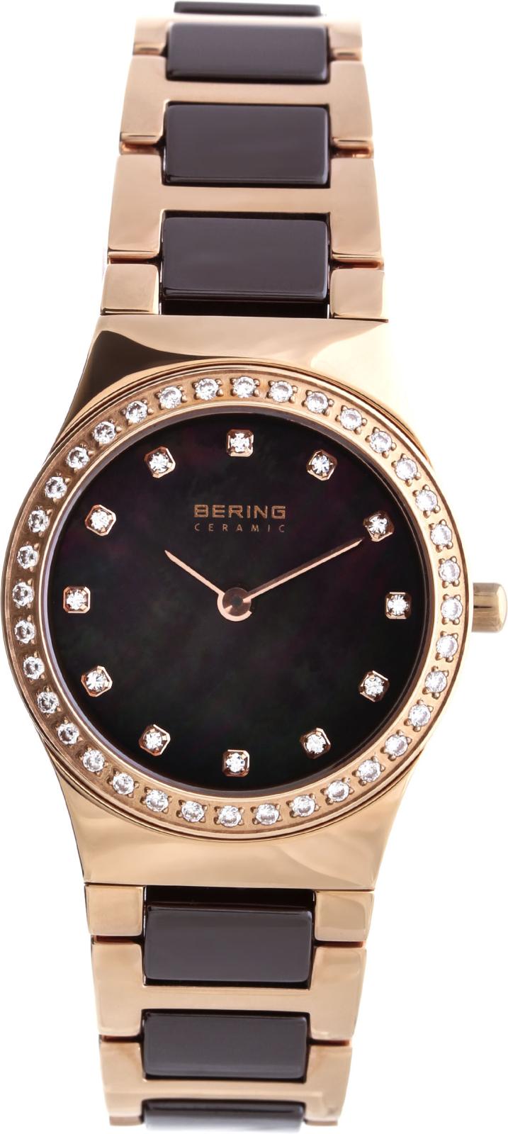 Bering Ceramic 32426-765Наручные часы<br>Датские часы Bering Ceramic 32426-765<br><br>Пол: Женские<br>Страна-производитель: Дания<br>Механизм: Кварцевый<br>Материал корпуса: Сталь<br>Материал ремня/браслета: Сталь+керамика<br>Водозащита, диапазон: 20 - 100 м<br>Стекло: Сапфировое<br>Толщина корпуса: None<br>Стиль: Классика