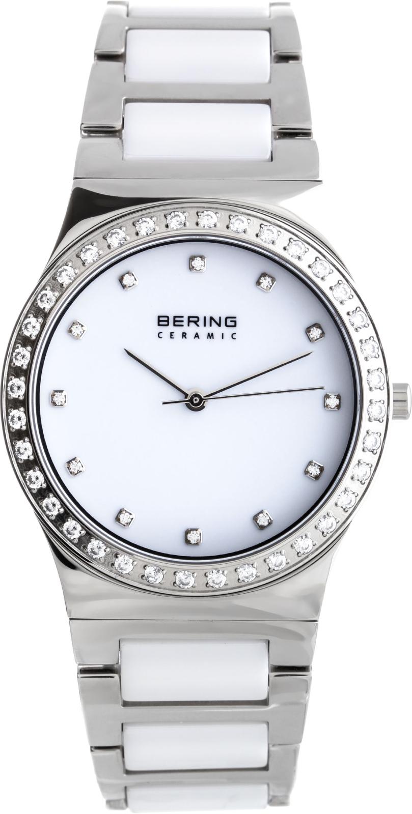 Bering Ceramic 32435-754Наручные часы<br>Датские часы Bering Ceramic 32435-754<br><br>Пол: Женские<br>Страна-производитель: Дания<br>Механизм: Кварцевый<br>Материал корпуса: Сталь<br>Материал ремня/браслета: Сталь+керамика<br>Водозащита, диапазон: 20 - 100 м<br>Стекло: Сапфировое<br>Толщина корпуса: None<br>Стиль: Классика