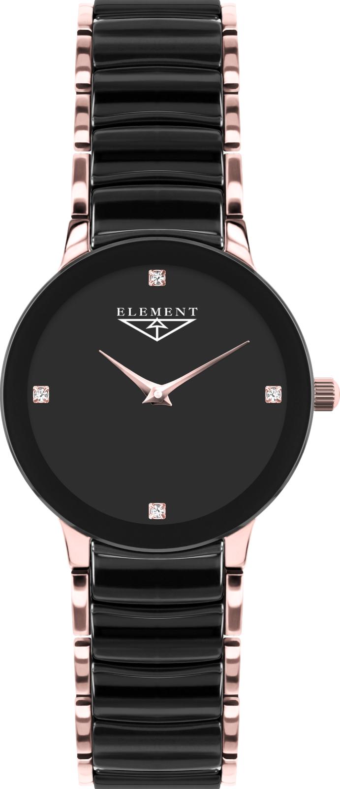 33 Element 2014-керамика 331422CНаручные часы<br>Литовские часы 33 Element 2014-керамика 331422C<br><br>Для кого?: Женские<br>Страна-производитель: Литва<br>Механизм: Кварцевый<br>Материал корпуса: Сталь<br>Материал ремня/браслета: Сталь+керамика<br>Водозащита, диапазон: 20 - 100 м<br>Стекло: Сапфировое<br>Толщина корпуса: None<br>Стиль: Классика