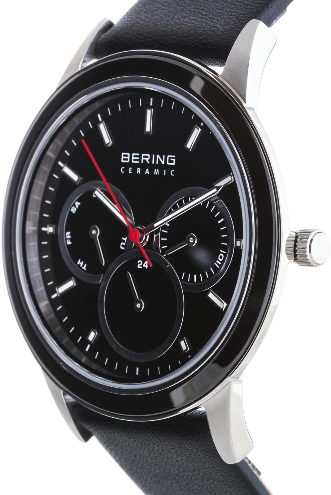 Bering Ceramic 33840-442Наручные часы<br>Датские часы Bering Ceramic 33840-442<br><br>Пол: Мужские<br>Страна-производитель: Дания<br>Механизм: Кварцевый<br>Материал корпуса: Сталь+керамика<br>Материал ремня/браслета: Кожа<br>Водозащита, диапазон: 20 - 100 м<br>Стекло: Минеральное<br>Толщина корпуса: None<br>Стиль: Классика