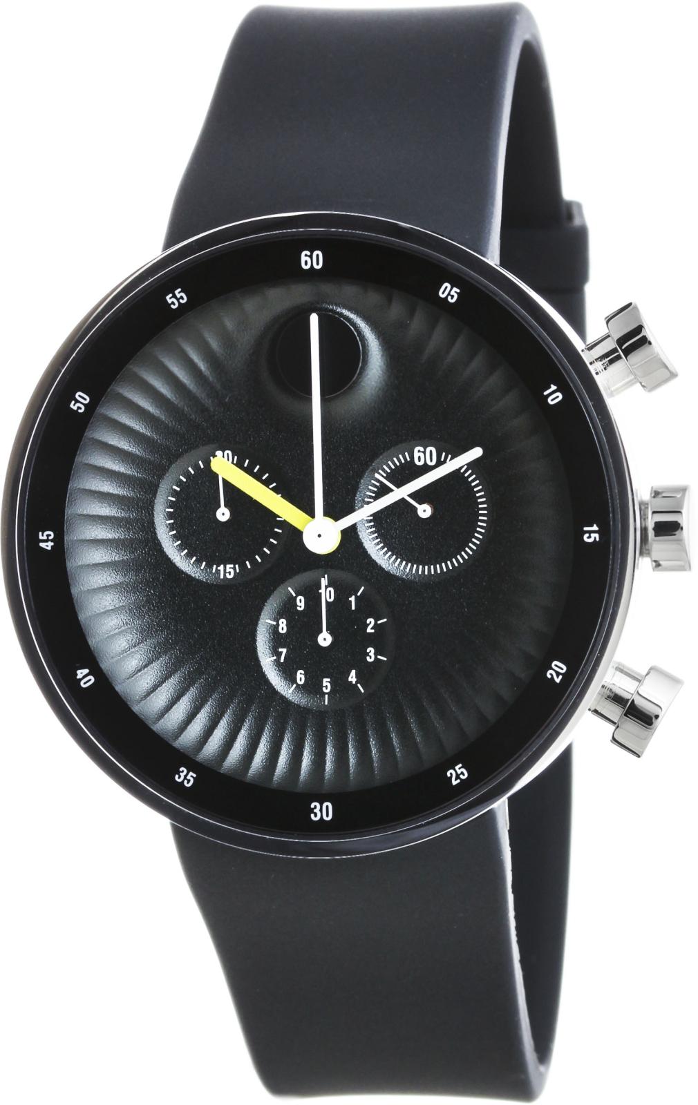 Часы movado известны минимализмом — знаменитый циферблат выполнен без индексов, с единственной отметкой в виде оригинальной точки.