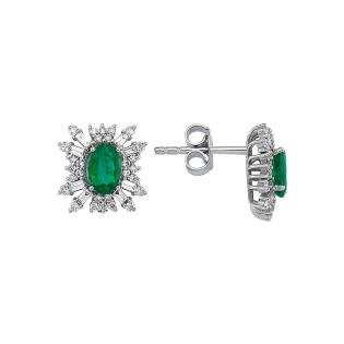 Серьги MOSTAR jewellery 416-1B-KP