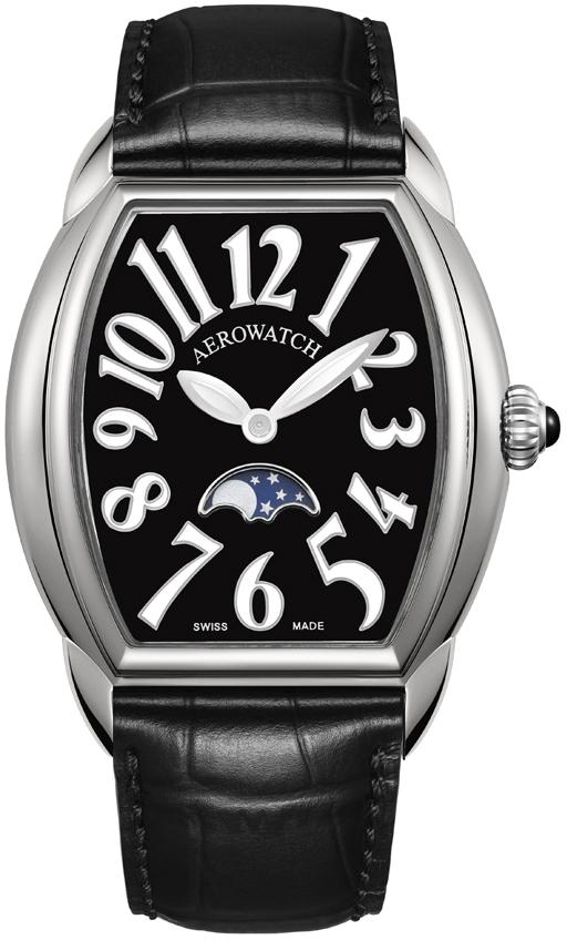 Aerowatch Streamline 43958 AA04Наручные часы<br>Швейцарские часы Aerowatch Streamline 43958 AA04<br><br>Пол: Женские<br>Страна-производитель: Швейцария<br>Механизм: Кварцевый<br>Материал корпуса: Сталь<br>Материал ремня/браслета: Кожа<br>Водозащита, диапазон: 20 - 100 м<br>Стекло: Сапфировое<br>Толщина корпуса: None<br>Стиль: Классика