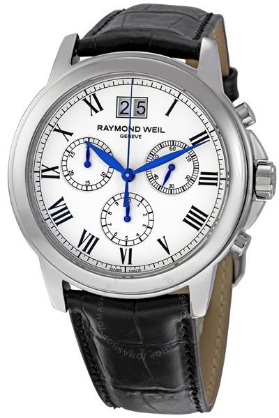 Raymond Weil Tradition 4476-STC-00300Наручные часы<br>Швейцарские часы Raymond Weil Tradition 4476-STC-00300Данная модель входит в коллекцию Tradition. Это великолепные мужские часы. Материал корпуса часов &amp;mdash; сталь. В этих часах используется сапфировое стекло. Водозащита - 50 м. Основной цвет циферблата белый. Диаметр корпуса 39мм.<br><br>Пол: Мужские<br>Страна-производитель: Швейцария<br>Механизм: Кварцевый<br>Материал корпуса: Сталь<br>Материал ремня/браслета: Кожа<br>Водозащита, диапазон: 20 - 100 м<br>Стекло: Сапфировое<br>Толщина корпуса: None<br>Стиль: Классика