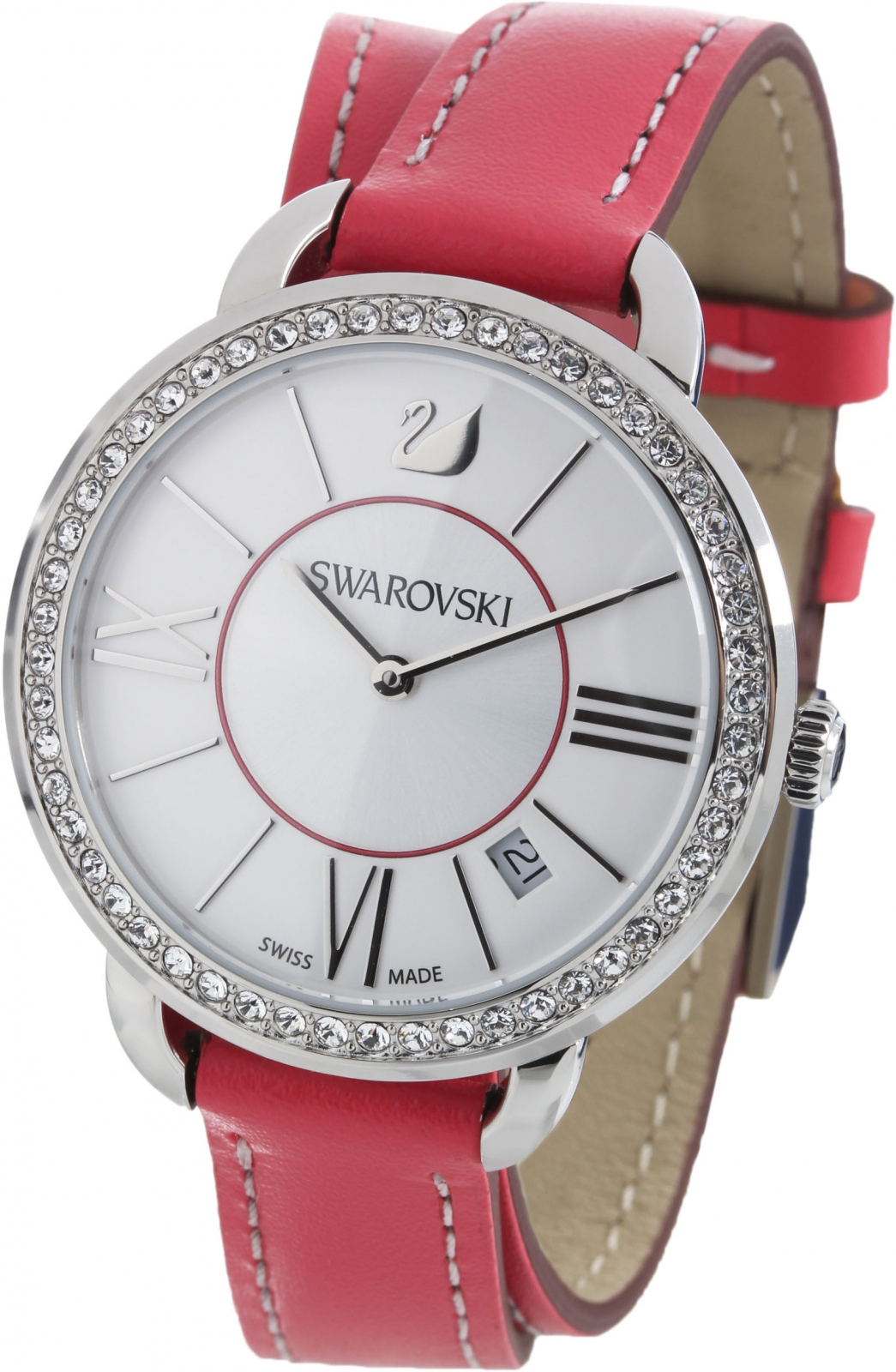 Купить Швейцарские часы Swarovski Aila Day Double Tour Berry  5095942, Swarovski Aila Day Double Tour Berry  5095942