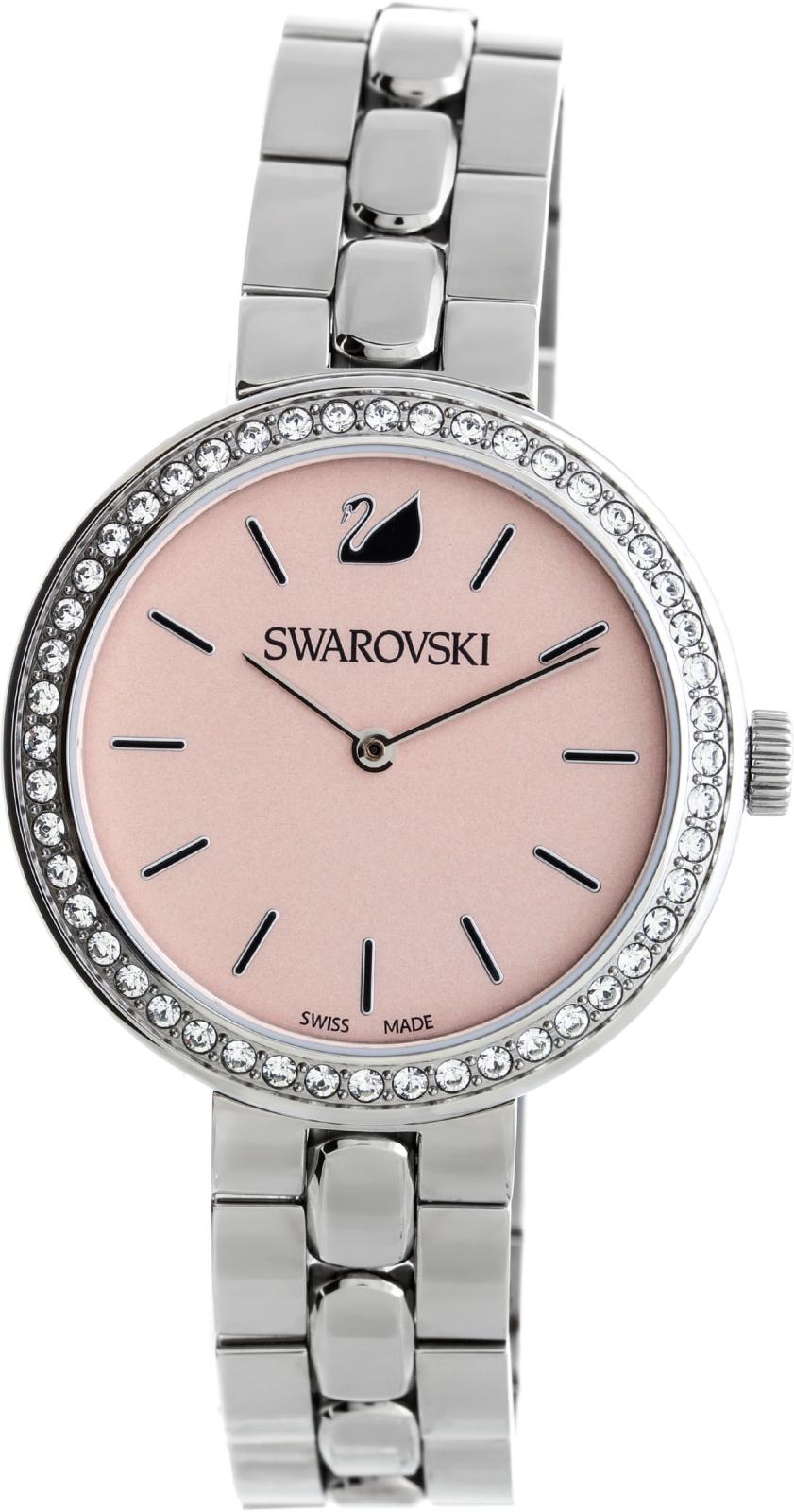 Swarovski Daytime Metal 5130566Наручные часы<br>Швейцарские часы Swarovski Daytime Metal 5130566<br><br>Пол: Женские<br>Страна-производитель: Швейцария<br>Механизм: Кварцевый<br>Материал корпуса: Сталь<br>Материал ремня/браслета: Сталь<br>Водозащита, диапазон: 20 - 100 м<br>Стекло: Минеральное<br>Толщина корпуса: 8мм<br>Стиль: Мода
