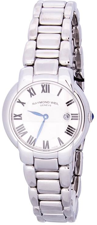Raymond Weil Jasmine  5229-ST-01659Наручные часы<br>Швейцарские часы Raymond Weil Jasmine 5229-ST-01659Представленная модель входит в коллекцию Jasmine . Это великолепные женские часы. Материал корпуса часов — сталь. Стекло - сапфировое. Водозащита этих часов 50 м.<br><br>Пол: Женские<br>Страна-производитель: Швейцария<br>Механизм: Кварцевый<br>Материал корпуса: Сталь<br>Материал ремня/браслета: Сталь<br>Водозащита, диапазон: 20 - 100 м<br>Стекло: Сапфировое<br>Толщина корпуса: None<br>Стиль: None