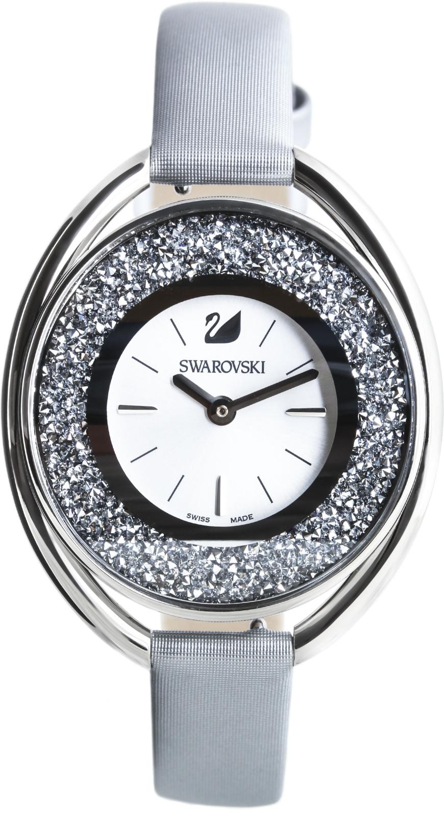 Swarovski Crystalline Oval 5263907Наручные часы<br>Швейцарские часы Swarovski Crystalline Oval 5263907<br><br>Пол: Женские<br>Страна-производитель: Швейцария<br>Механизм: Кварцевый<br>Материал корпуса: Сталь<br>Материал ремня/браслета: Текстиль<br>Водозащита, диапазон: None<br>Стекло: Минеральное<br>Толщина корпуса: None<br>Стиль: None