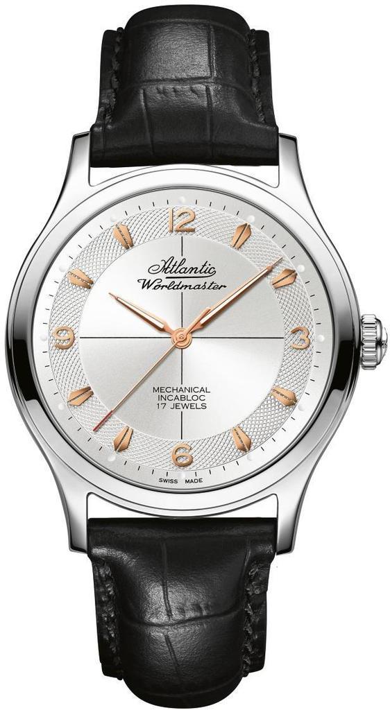 Купить Швейцарские часыAtlanticWorldmaster The Original Mechanical53654.41.25R, Atlantic 53654.41.25R