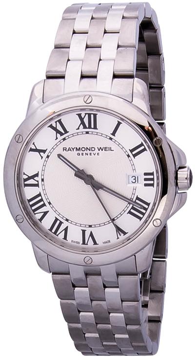 Raymond Weil Tango 5591-ST-00659Наручные часы<br>Швейцарские часы Raymond Weil Tango 5591-ST-00659Представленная модель входит в коллекцию Tango. Это модные мужские часы. Материал корпуса часов — сталь. Стекло - сапфировое. Водозащита - 50 м.<br><br>Для кого?: Мужские<br>Страна-производитель: Швейцария<br>Механизм: Кварцевый<br>Материал корпуса: Сталь<br>Материал ремня/браслета: Сталь<br>Водозащита, диапазон: 20 - 100 м<br>Стекло: Сапфировое<br>Толщина корпуса/: <br>Стиль/: