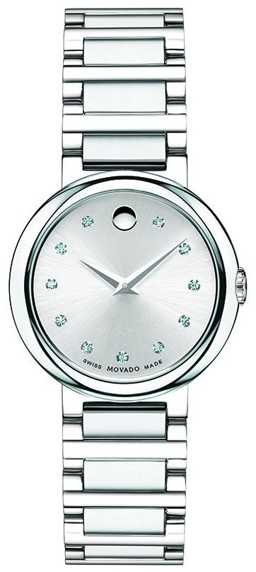 Movado Concerto 0606789Наручные часы<br>Швейцарские часы Movado Concerto 0606789<br><br>Пол: Женские<br>Страна-производитель: Швейцария<br>Механизм: Кварцевый<br>Материал корпуса: Сталь<br>Материал ремня/браслета: Сталь<br>Водозащита, диапазон: 20 - 100 м<br>Стекло: Сапфировое<br>Толщина корпуса: None<br>Стиль: Классика