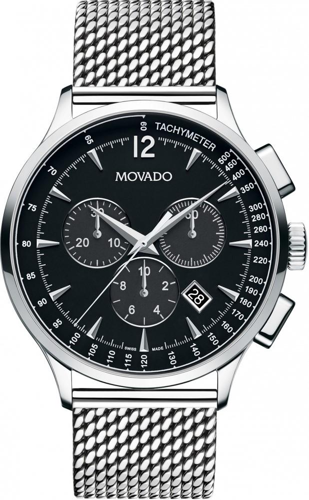 Movado Circa 0606803Наручные часы<br>Швейцарские часы Movado Circa 0606803<br><br>Пол: Мужские<br>Страна-производитель: Швейцария<br>Механизм: Кварцевый<br>Материал корпуса: Сталь<br>Материал ремня/браслета: Сталь<br>Водозащита, диапазон: 20 - 100 м<br>Стекло: Сапфировое<br>Толщина корпуса: None<br>Стиль: Классика