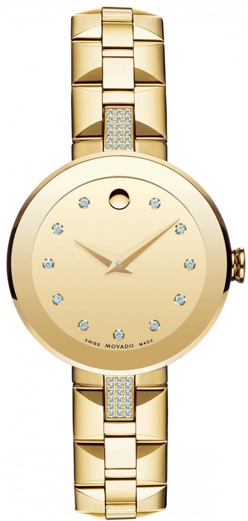 Movado Sapphire 0606817Наручные часы<br>Швейцарские часы Movado Sapphire 0606817<br><br>Пол: Женские<br>Страна-производитель: Швейцария<br>Механизм: Кварцевый<br>Материал корпуса: Сталь<br>Материал ремня/браслета: Сталь<br>Водозащита, диапазон: 20 - 100 м<br>Стекло: Сапфировое<br>Толщина корпуса: None<br>Стиль: Классика