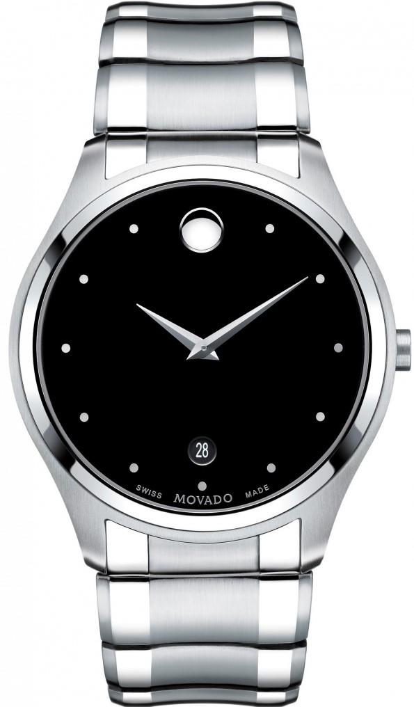 Movado Celo 0606839Наручные часы<br>Швейцарские часы Movado Celo 0606839<br><br>Пол: Мужские<br>Страна-производитель: Швейцария<br>Механизм: Кварцевый<br>Материал корпуса: Сталь<br>Материал ремня/браслета: Сталь<br>Водозащита, диапазон: 20 - 100 м<br>Стекло: Сапфировое<br>Толщина корпуса: None<br>Стиль: Классика
