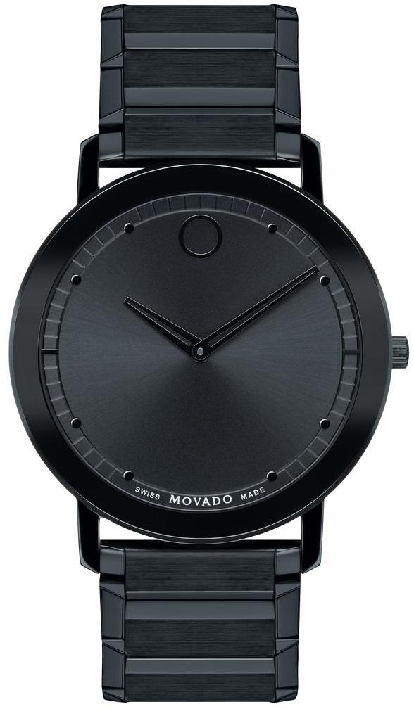 Movado Sapphire 0606882Наручные часы<br>Швейцарские часы Movado Sapphire 0606882<br><br>Пол: Мужские<br>Страна-производитель: Швейцария<br>Механизм: Кварцевый<br>Материал корпуса: Сталь<br>Материал ремня/браслета: Сталь<br>Водозащита, диапазон: None<br>Стекло: Сапфировое<br>Толщина корпуса: None<br>Стиль: None