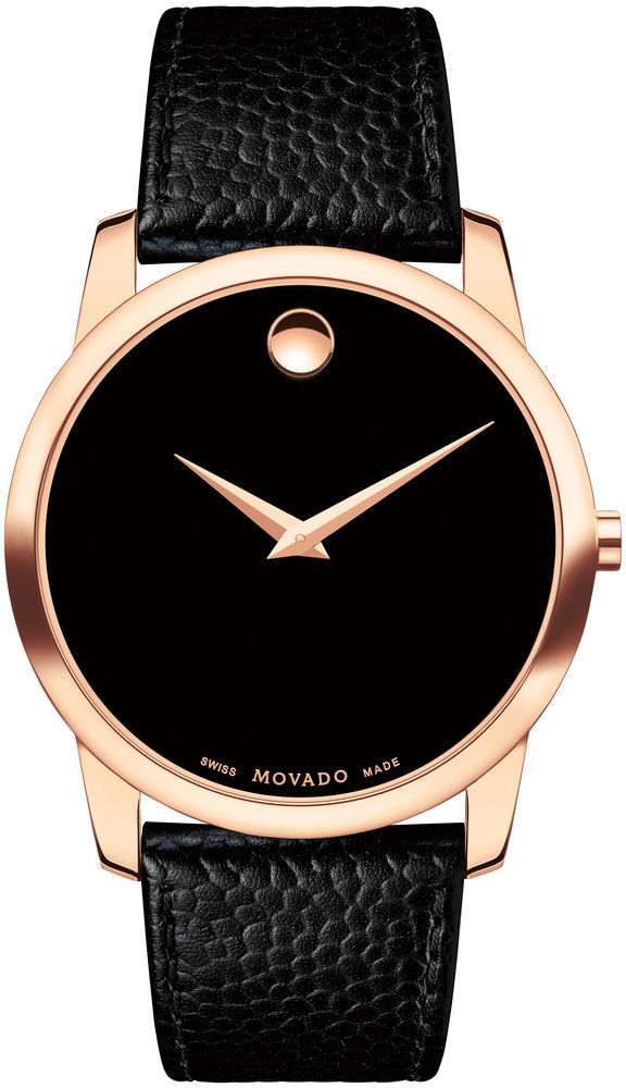 Movado Museum Classic 0607060Наручные часы<br>Швейцарские часы Movado Museum Classic 0607060<br><br>Пол: Мужские<br>Страна-производитель: Швейцария<br>Механизм: Кварцевый<br>Материал корпуса: Сталь<br>Материал ремня/браслета: Кожа<br>Водозащита, диапазон: None<br>Стекло: Сапфировое<br>Толщина корпуса: None<br>Стиль: None