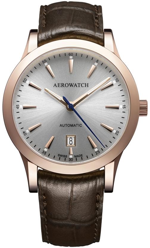 Aerowatch Les Grandes Classiques 60947 RO02Наручные часы<br>Швейцарские часы Aerowatch Les Grandes Classiques 60947 RO02<br><br>Пол: Мужские<br>Страна-производитель: Швейцария<br>Механизм: Механический<br>Материал корпуса: Сталь<br>Материал ремня/браслета: Кожа<br>Водозащита, диапазон: 20 - 100 м<br>Стекло: Сапфировое<br>Толщина корпуса: None<br>Стиль: Классика