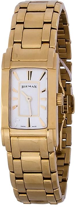 Rieman Integrale Ladies R6421.124.035Наручные часы<br>Швейцарские часы Rieman Integrale Ladies R6421.124.035Часы входят в модельный ряд коллекции Integrale Ladies. Это женские часы. Материал корпуса часов &amp;mdash; сталь+золото. В этой модели стоит сапфировое стекло. Водозащита этих часов 30 м. Цвет циферблата - серый. Из основных функций на циферблате представлены: часы, минуты. В этой модели используются такие усложнения как . Диаметр корпуса данной модели 21х41мм.<br><br>Пол: Женские<br>Страна-производитель: Швейцария<br>Механизм: Кварцевый<br>Материал корпуса: Сталь+Золото<br>Материал ремня/браслета: Сталь+Золото<br>Водозащита, диапазон: 20 - 100 м<br>Стекло: Сапфировое<br>Толщина корпуса: None<br>Стиль: Классика