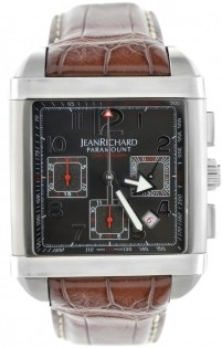 Jean Richard Paramount Square Chronograph JR 65118-11-60A-AAED