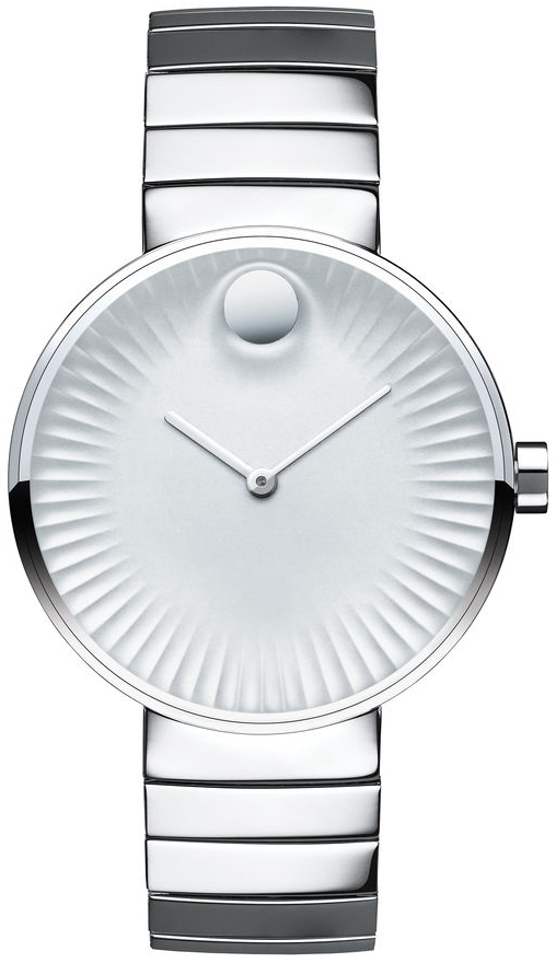 Movado Edge 3680012Наручные часы<br>Швейцарские часы Movado Edge 3680012<br><br>Пол: Женские<br>Страна-производитель: Швейцария<br>Механизм: Кварцевый<br>Материал корпуса: Сталь<br>Материал ремня/браслета: Сталь<br>Водозащита, диапазон: None<br>Стекло: Сапфировое<br>Толщина корпуса: None<br>Стиль: None