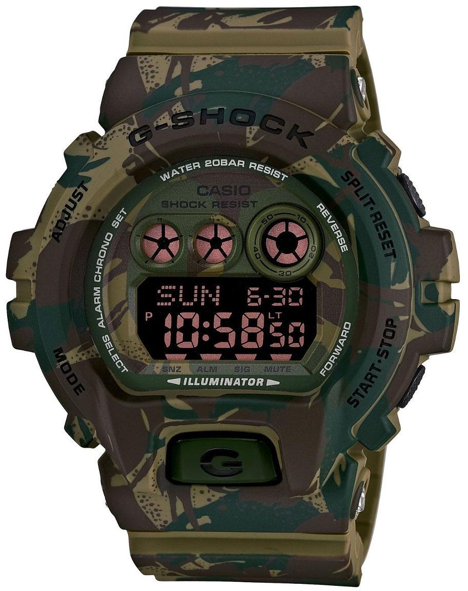 Casio G-shock GD-X6900MC-3EНаручные часы<br>Японские часы Casio G-shock GD-X6900MC-3E<br><br>Пол: Мужские<br>Страна-производитель: Япония<br>Механизм: Кварцевый<br>Материал корпуса: Пластик<br>Материал ремня/браслета: Каучук<br>Водозащита, диапазон: None<br>Стекло: Минеральное<br>Толщина корпуса: 20,4 мм<br>Стиль: None