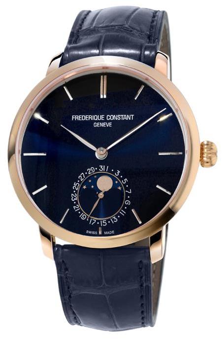Frederique Constant Slim Line FC-705N4S4NNНаручные часы<br>Швейцарские часы Frederique Constant Slim Line FC-705N4S4NN<br><br>Пол: Мужские<br>Страна-производитель: Швейцария<br>Механизм: Механический<br>Материал корпуса: Сталь<br>Материал ремня/браслета: Кожа<br>Водозащита, диапазон: 20 - 100 м<br>Стекло: Сапфировое<br>Толщина корпуса: 11 мм<br>Стиль: Классика