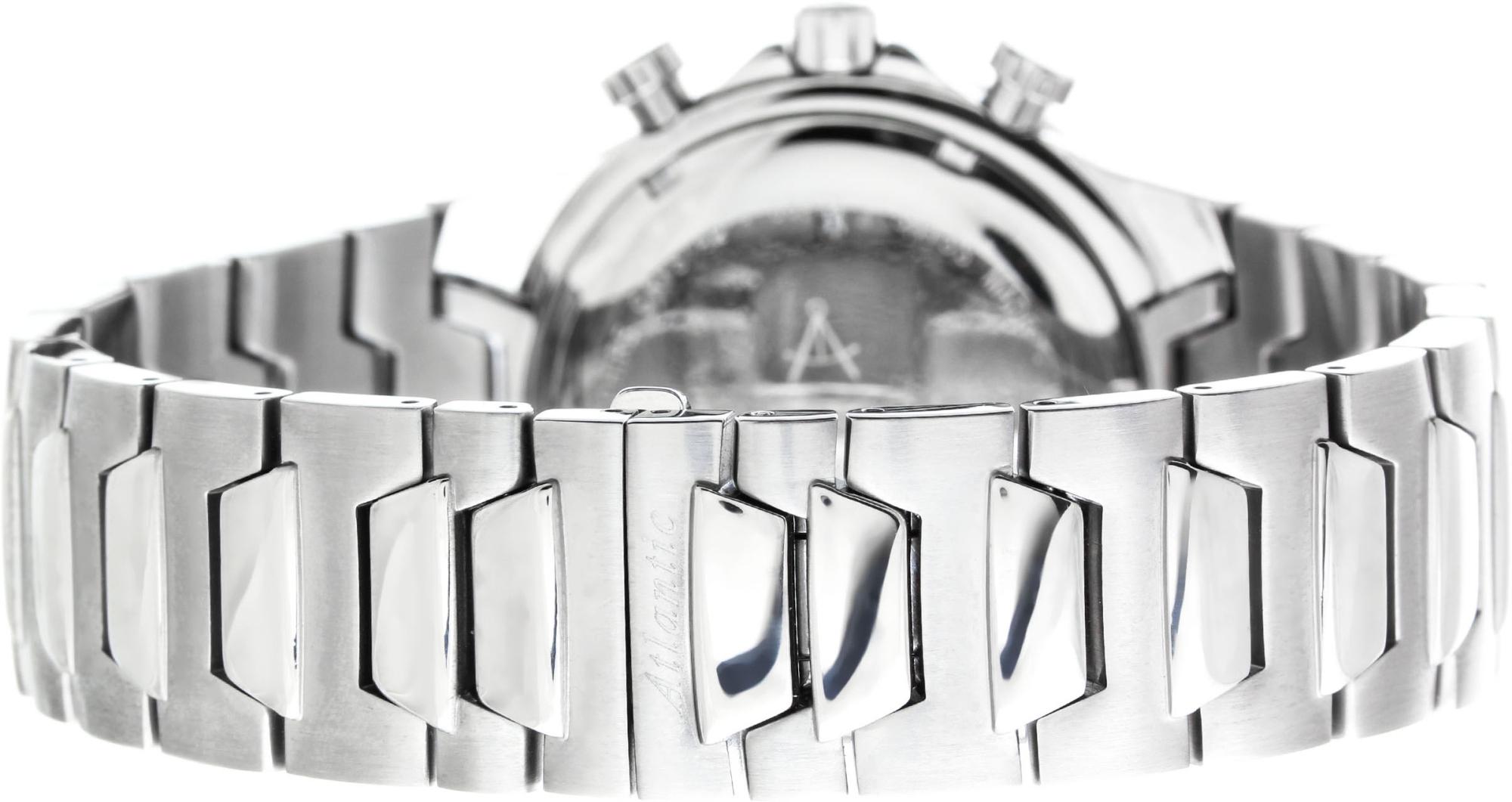 Atlantic Mariner 80476.41.21Наручные часы<br>Швейцарские часы Atlantic Mariner 80476.41.21<br><br>Пол: Мужские<br>Страна-производитель: Швейцария<br>Механизм: Кварцевый<br>Материал корпуса: Сталь<br>Материал ремня/браслета: Сталь<br>Водозащита, диапазон: 200 - 800 м<br>Стекло: Сапфировое<br>Толщина корпуса: None<br>Стиль: Спорт