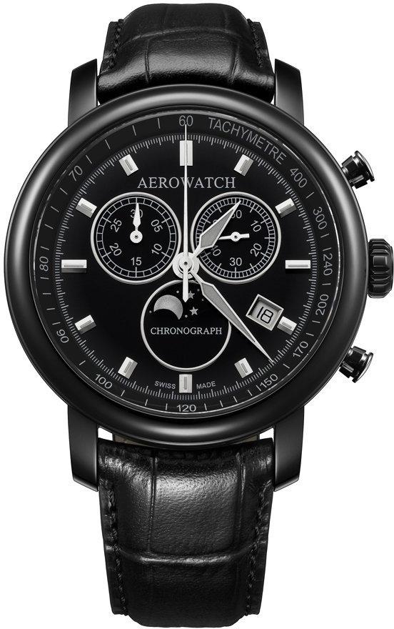 Aerowatch Renaissance 84936 NO03Наручные часы<br>Швейцарские часы Aerowatch Renaissance 84936 NO03<br><br>Пол: Мужские<br>Страна-производитель: Швейцария<br>Механизм: Кварцевый<br>Материал корпуса: Сталь<br>Материал ремня/браслета: Кожа<br>Водозащита, диапазон: 20 - 100 м<br>Стекло: Сапфировое<br>Толщина корпуса: None<br>Стиль: Классика