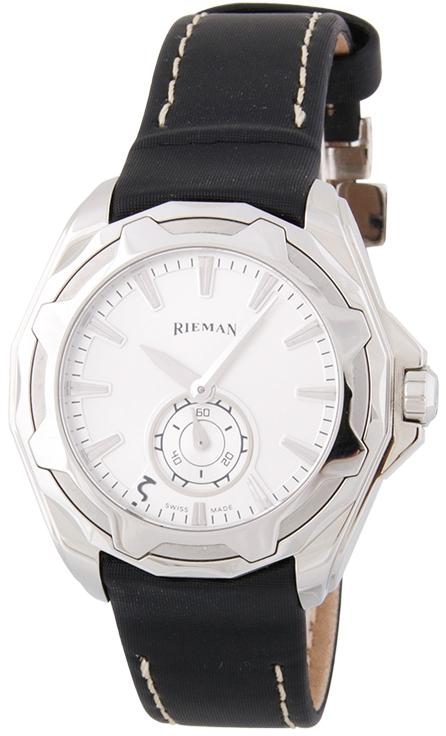 Rieman OutSpace R9140.124.412Наручные часы<br>Швейцарские часы Rieman OutSpace R9140.124.412Часы входят в модельный ряд коллекции OutSpace. Это стильные женские часы. Материал корпуса часов &amp;mdash; сталь. Стекло - сапфировое. Водозащита этих часов 100 м. Цвет циферблата - белый. Из основных функций на циферблате представлены: часы, минуты, секунды. В данной модели используются следующие усложнения: . Часы обладают корпусом 36мм.<br><br>Пол: Женские<br>Страна-производитель: Швейцария<br>Механизм: Кварцевый<br>Материал корпуса: Сталь<br>Материал ремня/браслета: Кожа<br>Водозащита, диапазон: 100 - 150 м<br>Стекло: Сапфировое<br>Толщина корпуса: None<br>Стиль: Спорт
