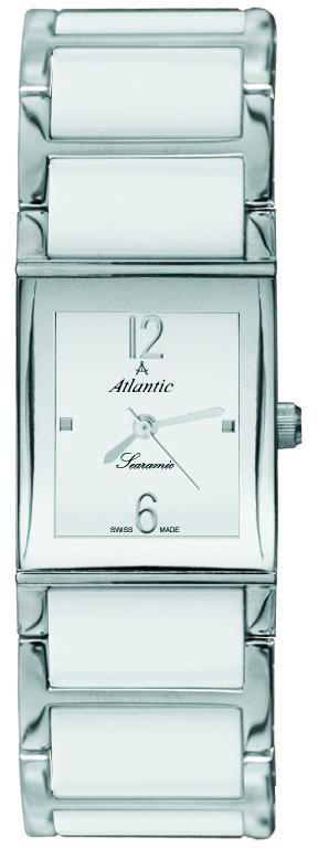 Atlantic Searamic 92045.51.15Наручные часы<br>Швейцарские часы Atlantic Searamic 92045.51.15<br><br>Пол: Женские<br>Страна-производитель: Швейцария<br>Механизм: Кварцевый<br>Материал корпуса: Сталь<br>Материал ремня/браслета: Сталь+керамика<br>Водозащита, диапазон: 20 - 100 м<br>Стекло: Минеральное<br>Толщина корпуса: 7 мм<br>Стиль: Классика