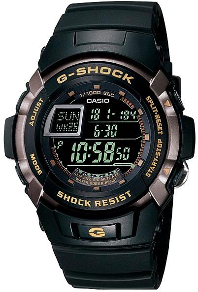 Casio G-shock G-Classic G-7710-1EНаручные часы<br>Японские часы Casio G-shock G-Classic G-7710-1E<br><br>Пол: Мужские<br>Страна-производитель: Япония<br>Механизм: Кварцевый<br>Материал корпуса: Сталь+пластик<br>Материал ремня/браслета: Пластик<br>Водозащита, диапазон: None<br>Стекло: Минеральное<br>Толщина корпуса: None<br>Стиль: None