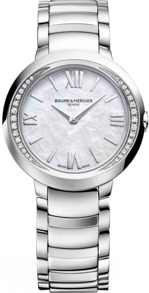 Baume&amp;Mercier Promesse MOA10160Наручные часы<br>Швейцарские часы Baume&amp;amp;Mercier Promesse MOA10160<br><br>Пол: Женские<br>Страна-производитель: Швейцария<br>Механизм: Кварцевый<br>Материал корпуса: Сталь<br>Материал ремня/браслета: Сталь<br>Водозащита, диапазон: None<br>Стекло: Сапфировое<br>Толщина корпуса: None<br>Стиль: Классика