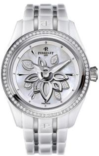 Perrelet White Diamond Flower A2040/A