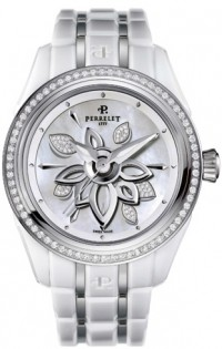 Perrelet White Diamond Flower A2040/A